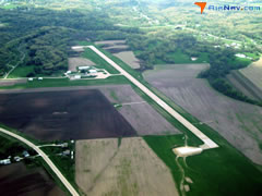 Aerial photo of KFSW (Fort Madison Municipal Airport)