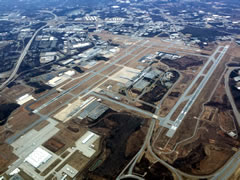 Aerial photo of KGSO (Piedmont Triad International Airport)