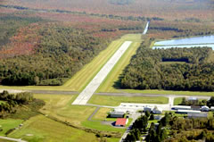 Aerial photo of 2B7 (Pittsfield Municipal Airport)