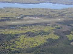 Aerial photo of KCKC (Grand Marais/Cook County Airport)