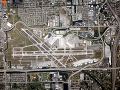 Aerial photo of KPBI (Palm Beach International Airport)