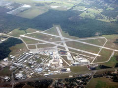 Aerial photo of KBOW (Bartow Executive Airport)