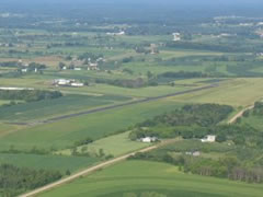 Aerial photo of KVIQ (Neillsville Municipal Airport)