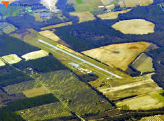 Aerial photo of KCXU (Camilla-Mitchell County Airport)