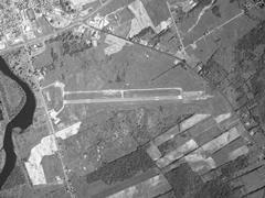 Aerial photo of KOGS (Ogdensburg International Airport)