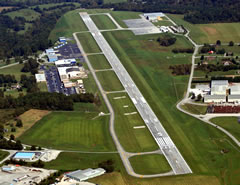 Aerial photo of KSME (Lake Cumberland Regional Airport)