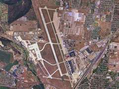 Aerial photo of KSKF (Kelly Field Airport)