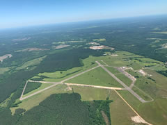 Aerial photo of M18 (Hope Municipal Airport)