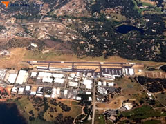Aerial photo of KAUN (Auburn Municipal Airport)