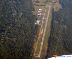 Aerial photo of KHBI (Asheboro Regional Airport)