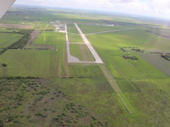 Aerial photo of KBAZ (New Braunfels Regional Airport)