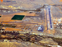 Aerial photo of KGEY (South Big Horn County Airport)