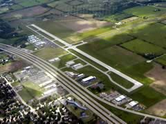 Aerial photo of KFLD (Fond Du Lac County Airport)