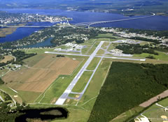Aerial photo of KEWN (Coastal Carolina Regional Airport)