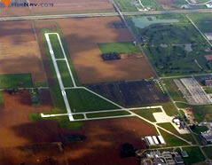 Aerial photo of 1G0 (Wood County Airport)
