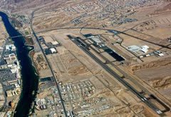 Aerial photo of KIFP (Laughlin/Bullhead International Airport)