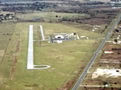 Aerial photo of KLXY (Mexia-Limestone County Airport)