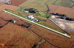 Aerial photo of 7W5 (Henry County Airport)