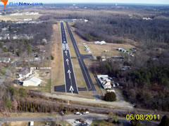 Aerial photo of 19N (Camden County Airport)