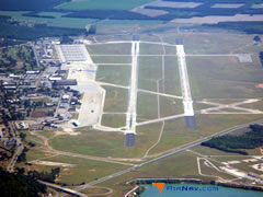 Aerial photo of KSSC (Shaw Air Force Base)