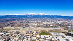 Aerial photo of KONT (Ontario International Airport)
