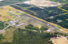 Aerial photo of KRJD (Ridgely Airpark)