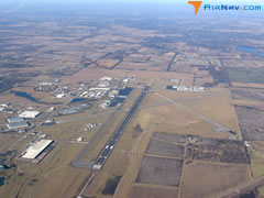 Aerial photo of KIXD (New Century AirCenter Airport)