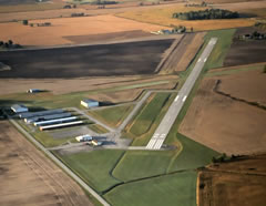 Aerial photo of 17G (Port Bucyrus-Crawford County Airport)