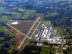 Aerial photo of KGVT (Majors Airport)