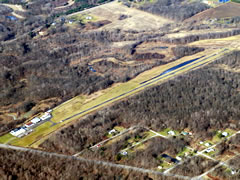 Aerial photo of 41N (Braceville Airport)