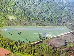 Aerial photo of 0F9 (Tishomingo Airpark)