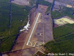 Aerial photo of KCKI (Williamsburg Regional Airport)