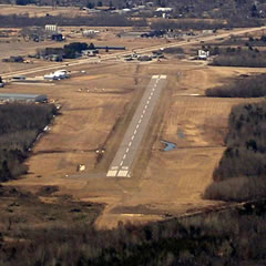 Aerial photo of Y72 (Bloyer Field Airport)