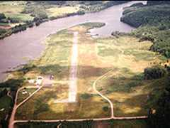 Aerial photo of KPKF (Park Falls Municipal Airport)