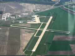 Aerial photo of KCGI (Cape Girardeau Regional Airport)