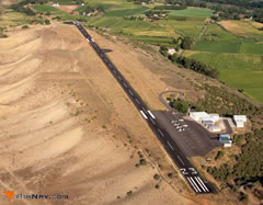 Aerial photo of 7V2 (North Fork Valley Airport)