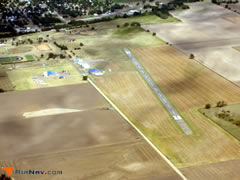 Aerial photo of 33K (Kinsley Municipal Airport)
