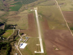 Aerial photo of KHLC (Hill City Municipal Airport)