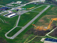 Aerial photo of KWAY (Greene County Airport)