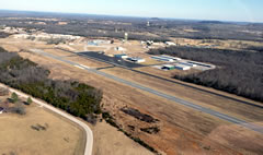 Aerial photo of KBPK (Baxter County Airport)