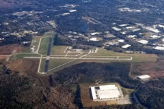 Aerial photo of KLGC (LaGrange-Callaway Airport)