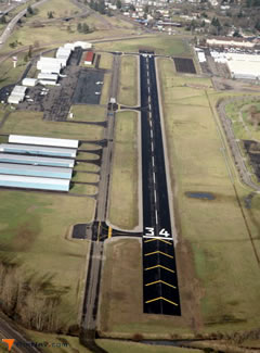 Aerial photo of S12 (Albany Municipal Airport)
