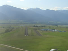 Aerial photo of 32S (Stevensville Airport)