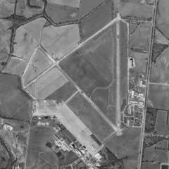 Aerial photo of M31 (Arnold Field Airport)