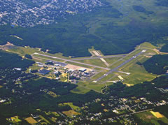 Aerial photo of KWWD (Cape May County Airport)