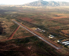 Aerial photo of P04 (Bisbee Municipal Airport)