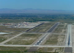 Aerial photo of KNFL (Fallon Naval Air Station (Van Voorhis Field) Airport)