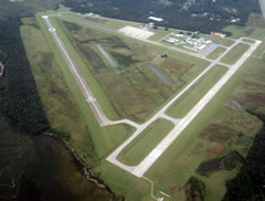 Aerial photo of KJZI (Charleston Executive Airport)