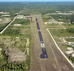 Aerial photo of KPZQ (Presque Isle County Airport)