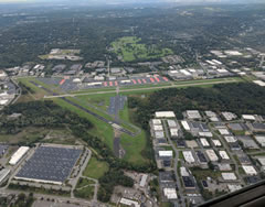 Aerial photo of KCDW (Essex County Airport)